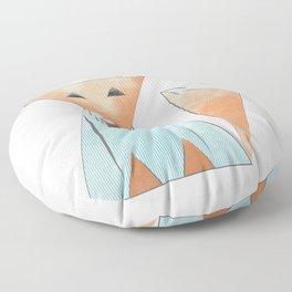 Hipster Fox Floor Pillow