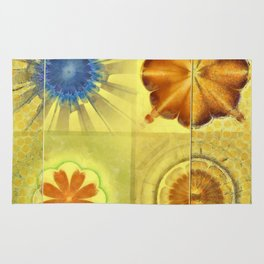 Didactic Rainbow Flower  ID:16165-120332-39891 Rug