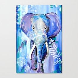 Boho Elephant Canvas Print