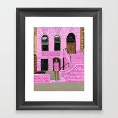 Solange in Brooklyn Framed Art Print