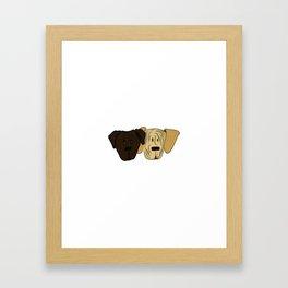 The Brindles Framed Art Print