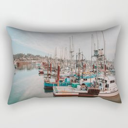 Fishing Boats Rectangular Pillow