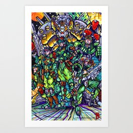 The Elite Art Print