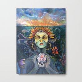 Goddess Sun Metal Print