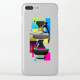 Tryptic Clear iPhone Case