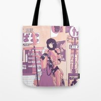 knight Tote Bags featuring Knight by Sunless