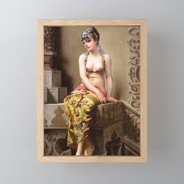 "Luis Ricardo Falero ""Enchantress"" Framed Mini Art Print"
