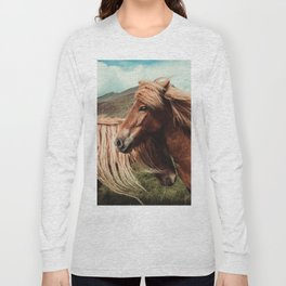 Horses in love Long Sleeve T-shirt