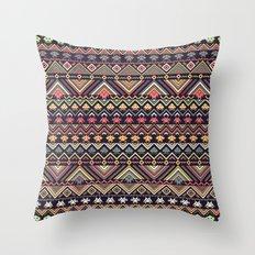 indians versus aliens (variant 2) Throw Pillow