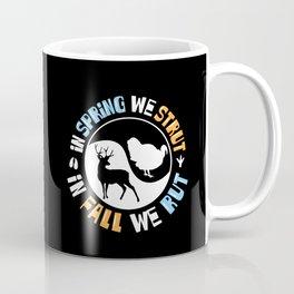 Hunter Fun - Funny Turkey & Deer Hunting Gift Coffee Mug