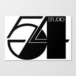 Studio 54 Art Print, Black White Poster, Art Prints, Fashion Print, Minimalist Print, Modern Art, Mi Canvas Print