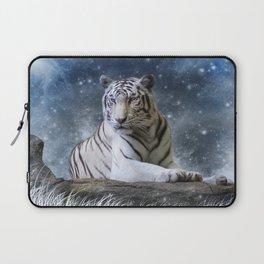 White Tiger Laptop Sleeve