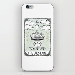 The Boss Lady iPhone Skin