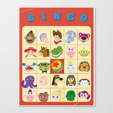 bingo! Canvas Print