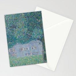 Farmhouse in Buchberg by Gustav Klimt Stationery Cards
