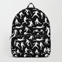 Baseball Players // Black Backpack
