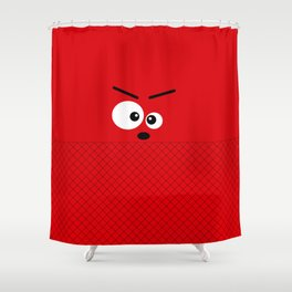Don't get angry Shower Curtain