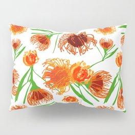Cute Australian Native Flower Print - Lovely Pincushions Pillow Sham