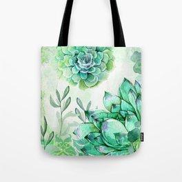 Irish Mint Garden Tote Bag