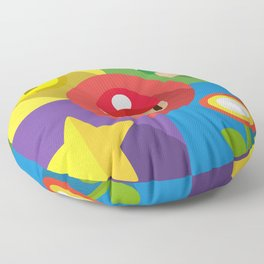Super Mario flat Floor Pillow