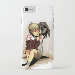 The Boy and The Falcon iPhone Case