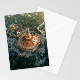 Shwedagon Pagoda, Yangon Stationery Cards