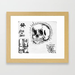 NRML Framed Art Print