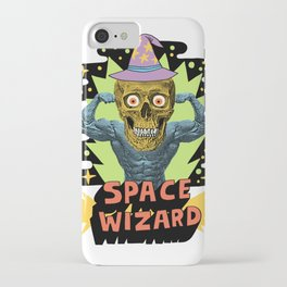 SPACE WIZARD iPhone Case