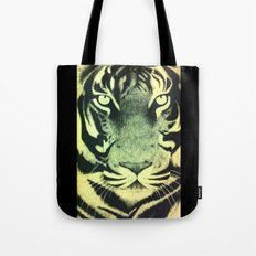 Be a Tiger (Yellow) Tote Bag