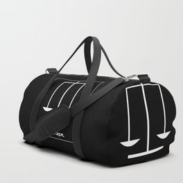 Libra ~ Libraque ~ Zodiac series Duffle Bag