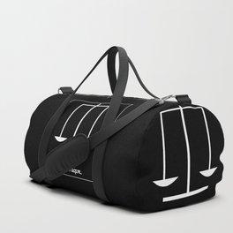 Libra ~ Libraque ~ Zodiac series Duffle Bag