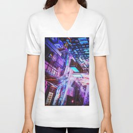 New York City Blade Runner Unisex V-Neck