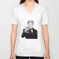 leonardo V-neck T-shirts featuring Leonardo by Rik Reimert