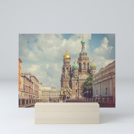 Saint Petersburg, Church of the Savior on Spilled Blood Mini Art Print