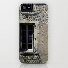 In France, by the window. iPhone Case