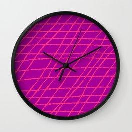 Purplicious Wall Clock