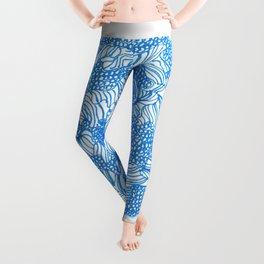 March's Blue 8 | Artline Drawing Pens Sketch Leggings
