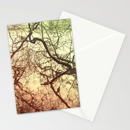 Branches With Reflections Stationery Cards