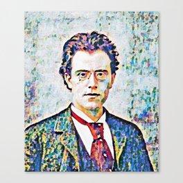 Gustav Mahler (1860 – 1911) Canvas Print