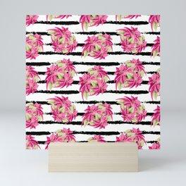 Pink Poinsettia Mini Art Print