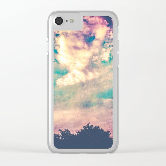 If I Had Wings Clear iPhone Case