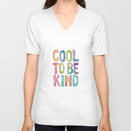 Cool to Be Kind Unisex V-Neck