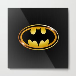 BAT - MAN Metal Print