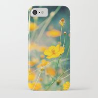 aperture iPhone & iPod Cases featuring Orange Cosmos by Laura Ruth