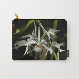 White Orchid Carry-All Pouch