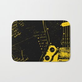 Mustang Guitar - Kurt C. Bath Mat