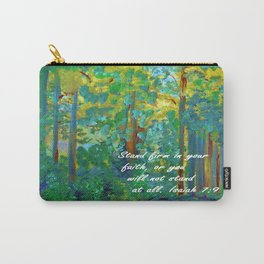 Stand Firm in Your Faith Carry-All Pouch