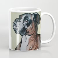dale cooper Mugs featuring Cooper by pawtraitz