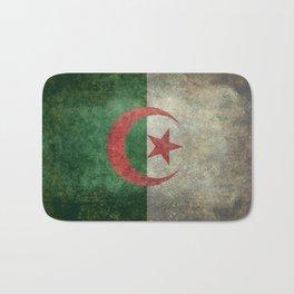 National flag of Algeria - Vintage version Bath Mat