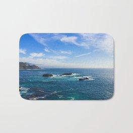 Baja California blue Bath Mat